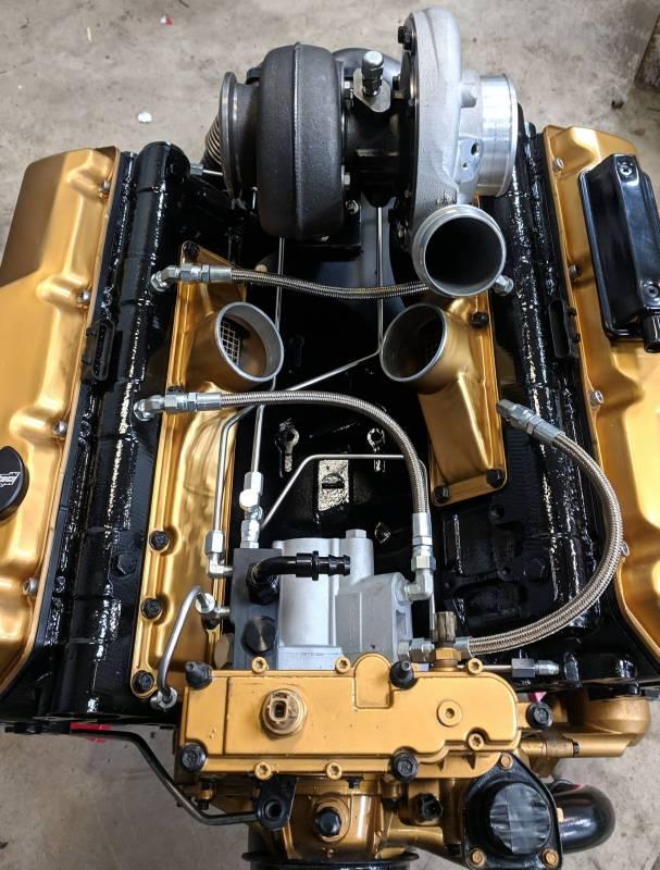 Cnc Fabrication 99 03 7 3l 4 Line Feed Fuel Line Kit Cnc 7 3 Sd Brfk