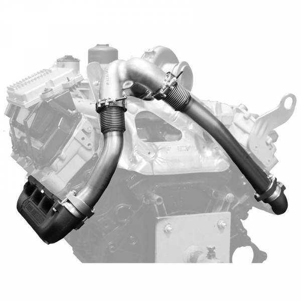 BD Diesel - BD-POWER 03-07 6.0L POWERSTROKE UP-PIPE KIT - 1043916