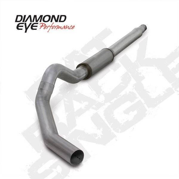 """Diamond Eye  - 03-07 6.0L 5"""" Aluminized  Cat Back Single W/ muffler - DE-K5344A"""