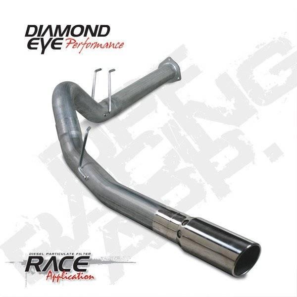 Diamond Eye  - DIAMOND EYE 2011-15 Stainless DPF back exhaust system - DE-K4376S