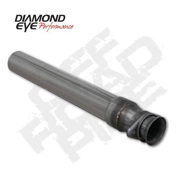 Diamond Eye  - DIAMOND EYE 94.5-97 7.3L Stainless off road pipe - DE-164006