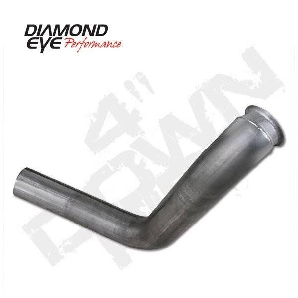 """Diamond Eye  - DIAMOND EYE 99-03 7.3L 4"""" Stainless down pipe - DE-160001"""