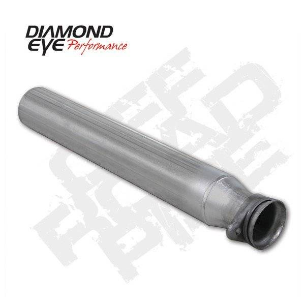 Diamond Eye  - DIAMOND EYE 94-97 7.3L Aluminized off road pipe - DE-124006