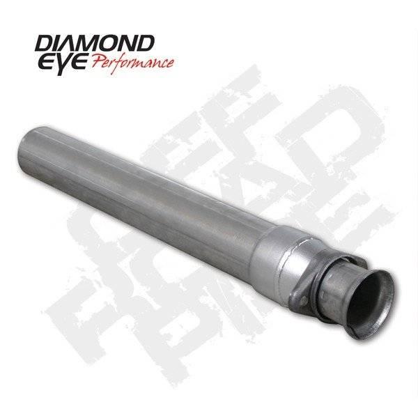 Diamond Eye  - DIAMOND EYE 94-97 7.3L Aluminized off road pipe - DE-124005