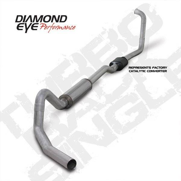 Diamond Eye  - DIAMOND EYE K4352A 03-07 TURBO BACK SINGLE