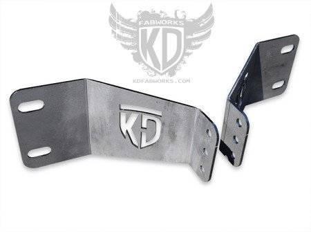 """KD Fabworks - KD FABWORKS11-16 F250/350 BUMPER BRACKETS FOR 30"""" LED LIGHT BARS - KDF-TR-0009"""