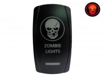 Lifetime LED - ZOMBIE TOGGLE SWITCH (LED DPDT)
