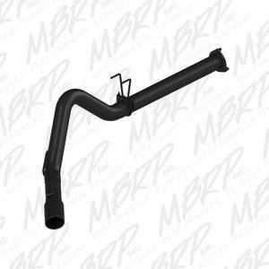 """MBRP Exhaust - MBRP 11-14 FORD F-250/350/450 6.7L 4"""" F/B SINGLE SIDE BLACK - S6248BLK"""