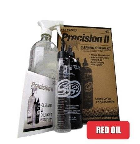 S&B Filters - S&B Filters Precision II cleaning & red oil kit - SBF-88-0008