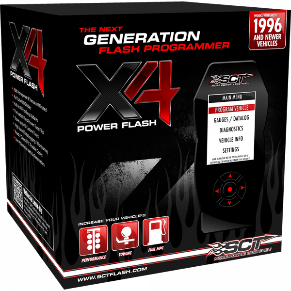 SCT Performance - SCT X4 Power Flash Programmer - 7015