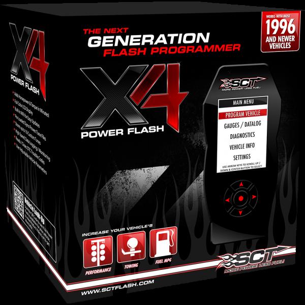 PSG Custom Tuning - SCT X4 Programmer 03-10 6.0L W/ PSG Custom Tuning - 6.0-SCT-X4-3PK