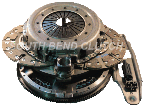 South Bend Clutch - SOUTH BEND STREET DUAL DISC CLUTCH 6.0L FORD POWERSTROKE 03-07 SFDD3250-60