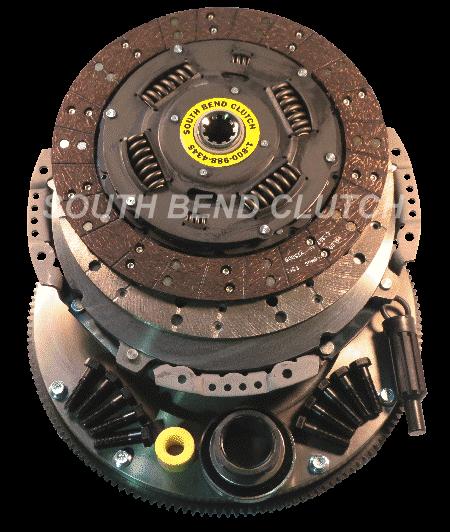 South Bend Clutch - SOUTH BEND CLUTCH W/ SOLID MASS FLYWHEEL 5SP 7.3L POWERSTROKE 94.5-98 1944-5K