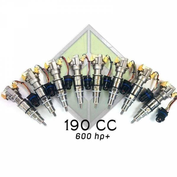Full Force Diesel - Full Force Diesel 190cc 6.0L Performance Injectors - FULL-6.0-190CC