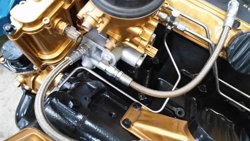CNC Fabrication - CNC Fabrication '99-03 7.3L 4-Line feed fuel bowl retain kit - CNC-7.3-SD-BRFK