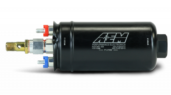 Aem Electronics - AEM 400LPH Fuel pump (Metric) - AEM-50-1009