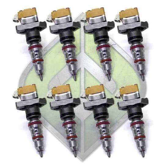 Full Force Diesel - Full Force Diesel 99.5-03 7.3L AD Injectors - FULL-SD-7.3-STKAD-8