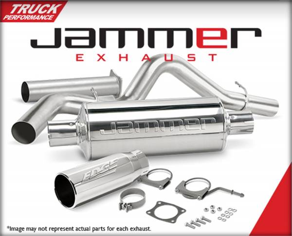 Edge Products - EDGE PRODUCTS 1999 FORD 7.3L TRK W/CAT CONV JAMMER EXHAUST CREW CAB LONG BED 17658