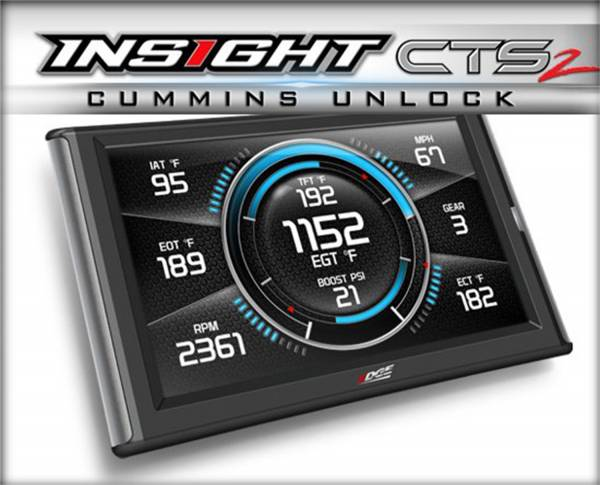 Edge Products - EDGE PRODUCTS INSIGHT CTS2 MONITOR (1996/NEWER OBDII ENABLED VEHICLE) 84130