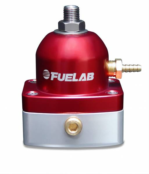 FUELAB - Fuelab Fuel Pressure Regulator Red - 51502-2