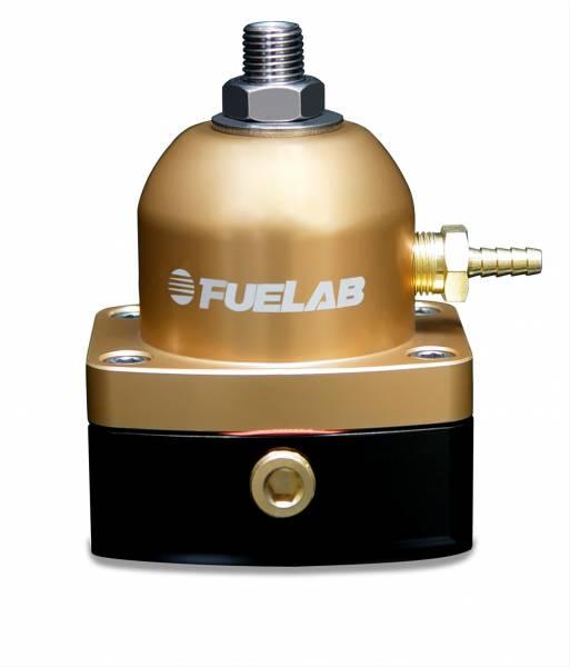 FUELAB - Fuelab Fuel Pressure Regulator Gold - 51502-5