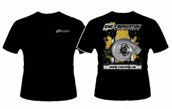 CNC Fabrication - CNC Fabrication T-Shirt - SWAG-TSHIRT