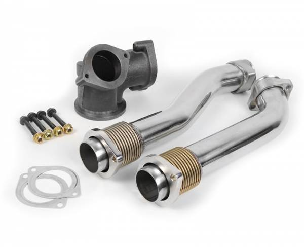 Dieselsite - DIESELSITE 99.5-03 7.3L Bellowed Up-Pipe Kit - DS-73BUP