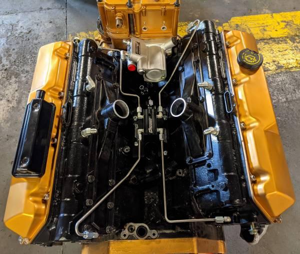 CNC Fabrication - CNC Fabrication 94.5-97 7.3L 4-Line Feed Fuel Line Kit - CNC-7.3-OBS-4LFFBD