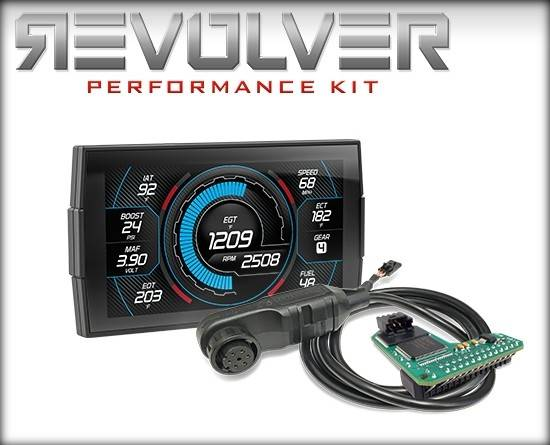 Edge Products - EDGE PRODUCTS BLANK REVOLVER PERFORMANCE KIT (REVOLVER WITH INSIGHT AND EAS SWITCH) FORD 7.3L 14100