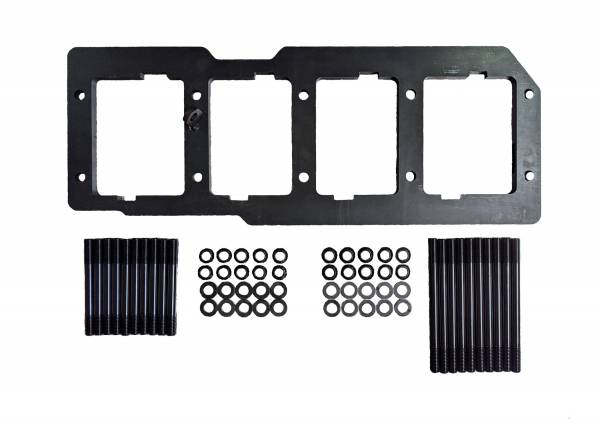 CNC Fabrication - CNC Fabrication 94-03 7.3L Main Plate Girdle - CNC-7.3-MPG-ARP