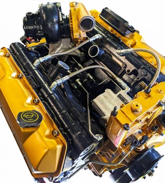 CNC Fabrication - CNC Fabrication 94.5-97 7.3L 4-Line Feed Fuel Line Kit - CNC-7.3-OBS-VMFK