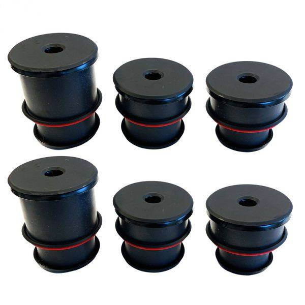 S&B Filters - S&B Filters 80-97 F-Series All Cab Styles Silicone Body Mount Kit - 81-1008