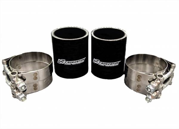 CNC Fabrication - CNC Fabrication 94.5-97 7.3L Intake Plenum Boot Kit - 7.3-OBS-IPBK-BLA