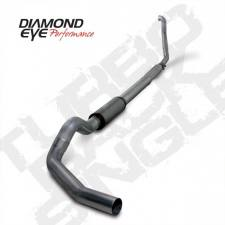 "POWERSTROKE 94-97 - EXHAUST 94-97 - Diamond Eye  - DIAMOND EYE 94-97 5"" Stainless turbo back single W/ muffler - DE-K5315S"