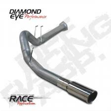 Exhaust - Exhaust Systems - Diamond Eye  - DIAMOND EYE 2011-15 Stainless DPF back exhaust system - DE-K4376S