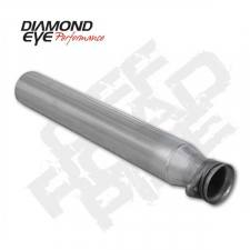 POWERSTROKE 94-97 - EXHAUST 94-97 - Diamond Eye  - DIAMOND EYE 94-97 7.3L Aluminized off road pipe - DE-124006