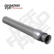 Exhaust - Exhaust Parts - Diamond Eye  - DIAMOND EYE 94-97 7.3L Aluminized off road pipe - DE-124005