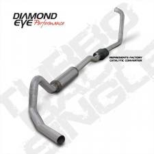 Diamond Eye  - DIAMOND EYE K4352A 03-07 TURBO BACK SINGLE