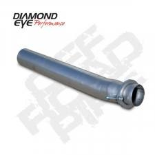 "Exhaust - Exhaust Parts - Diamond Eye  - DIAMOND EYE 03-07 6.0L 3.5"" Stainless off road pipe - DE-165034"