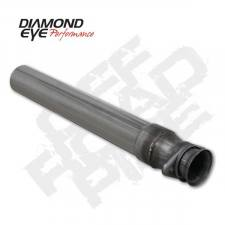 "POWERSTROKE 94-97 - EXHAUST 94-97 - Diamond Eye  - DIAMOND EYE 94-97 7.3L 3.5"" Stainless off road pipe - DE-164005"