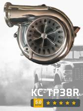 Turbo Chargers & Components - Turbo Chargers - KC Turbos - KC Turbo 94.5-97 7.3L 66/73 Factory Drop-in Turbo - KCT-KC-TP38R