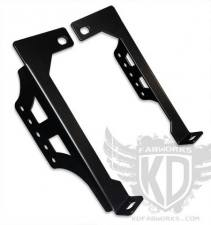 "Lighting - Offroad Lights - KD Fabworks - KD FABWORKS BUMPER BRACKETS FOR 20"" LED LIGHT BARS TR-0006"