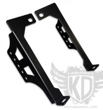 "Lighting - Lighting Accessories - KD Fabworks - KD FABWORKS 11-16 F250/F350 BUMPER BRACKETS 20"" LED LIGHT BARS - KDF-TR-0008"