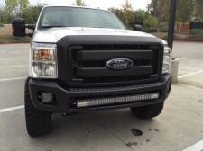 "KD Fabworks - KD FABWORKS 11-16 F250/F350 BUMPER BRACKETS FOR STRAIGHT 40"" LED LIGHT BARS - KDF-TR-0010 - Image 4"