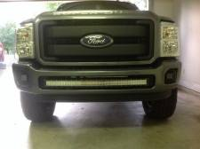 "KD Fabworks - KD FABWORKS 11-16 F250/F350 BUMPER BRACKETS FOR CURVED 40"" LED LIGHT BARS - KDF-TR-0012 - Image 3"