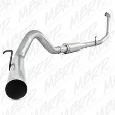 "SHOP BY BRAND - MBRP Exhaust - MBRP Exhaust - MBRP 99-03 7.3L 4"" F-250/350 Aluminized turbo back single W/ muffler - MBRP-S6200P"