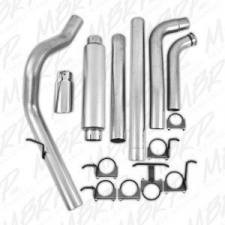"MBRP Exhaust - MBRP 03-07 6.0L 4"" Aluminized turbo back single side W/ tip and muffler - MBRP-S6212AL - Image 3"