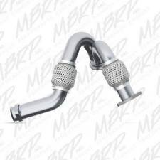 Turbo Chargers & Components - Intercoolers and Pipes - MBRP Exhaust - MBRP 03-07 6.0L Stainless turbo up pipe kit - MBRP-FAL2313