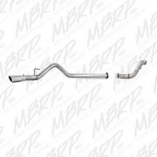 "MBRP Exhaust - MBRP 11-14 6.7L F-250/350/450 4"" Aluminized filter back single side exit W/ down pipe - MBRP-S6284AL"