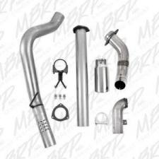 "MBRP Exhaust - MBRP 11-14 6.7L F-250/350/450 4"" Aluminized filter back single side exit W/ down pipe - MBRP-S6284AL - Image 5"